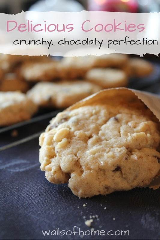 The perfect twist on the chocolate chip cookies! :) MUST try!