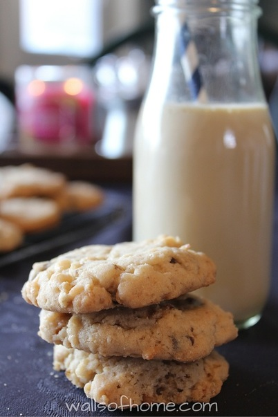 The perfect twist on a chocolate chip cookie! :)
