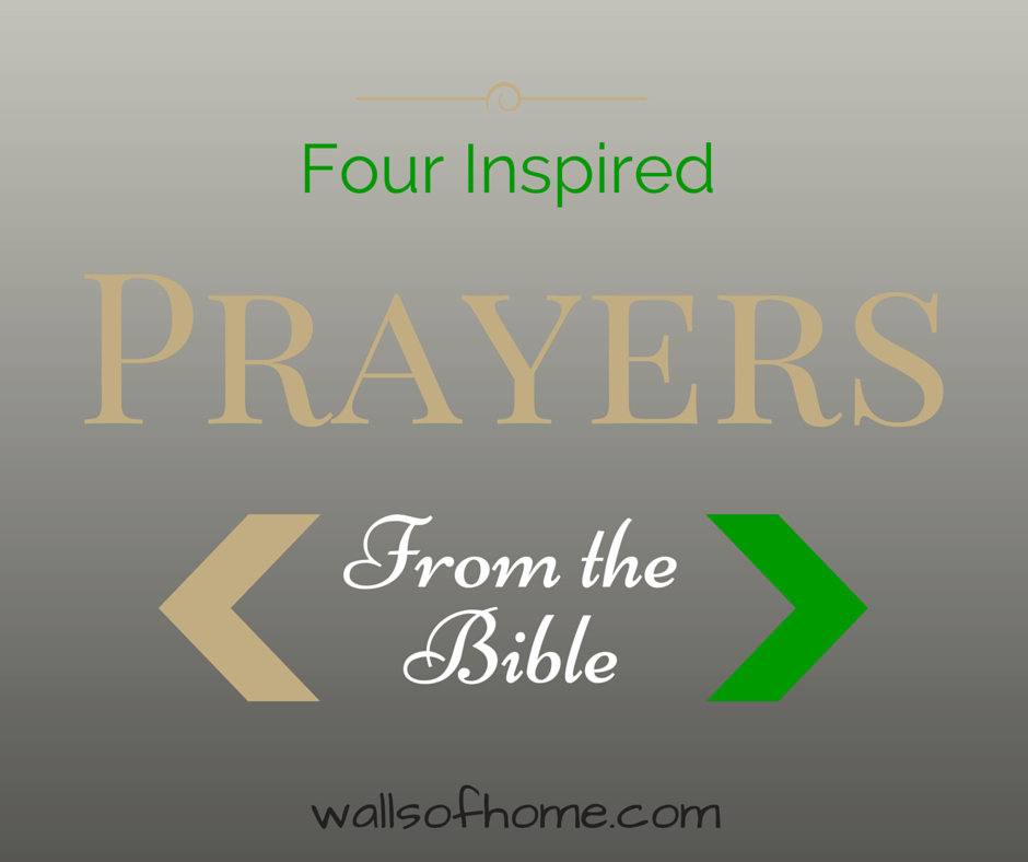 And This I Pray: Four Inspired Prayers From the Bible | Would you like to know and pray God's heart for you, your family and your friends? Let's take a look into the Scriptures and find out how!