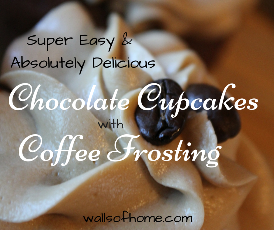Super Easy and Absolutely Delicious Chocolate Cupcakes with Coffee Frosting | How to make
