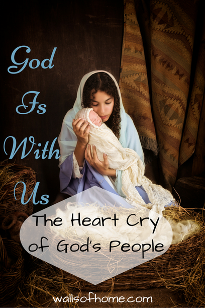 God Is With Us - The Heart Cry of God's People | God is here, He is with us! Let us celebrate His graciousness in awe and reverence!