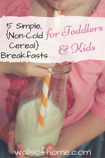 Some simple, wholesome and healthy breakfast ideas that your little ones will love! Plus, why I quit trying to be the