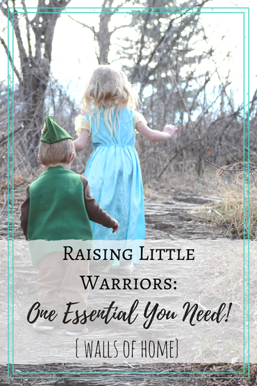 The first step to being a brave, courageous Mom & raising strong Christian kids!