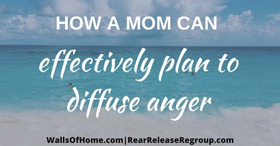 If you're a Mommy struggling with anger to your kids {even just a little, teeny, tiny bit} then you will want to read this!