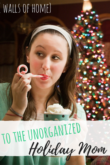 You love the holidays, the traditions and all, but your life is a little crazy and you don't write lists. Now what?